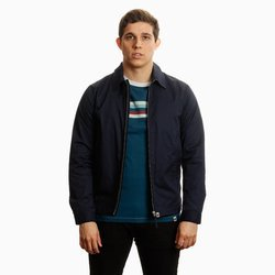 Pretty Green Mens Zip Up Harrington Jacket