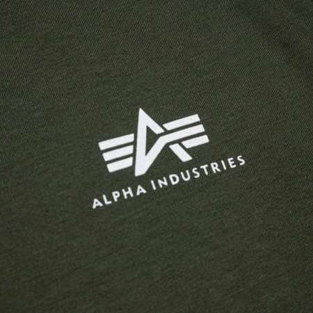 Alpha Industries Basic T Small Logo Dark olive