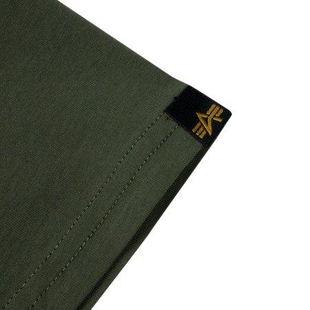 Alpha Industries Basic T Small Logo Dark olive