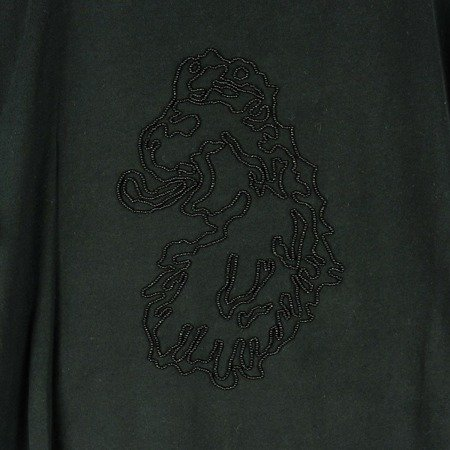 LUKE 1977 BEADED LION HEAD T-SHIRT PETROL