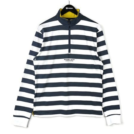 Marshall Artist Boating Stripe Funnel Neck