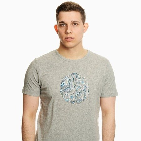 Pretty Green Mens Paisley Applique Logo