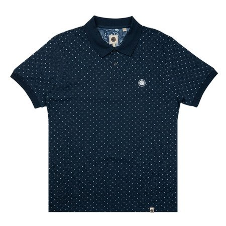 Pretty Green Mens Polka Dot Polo Shirt