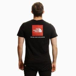 KOSZULKA THE NORTH FACE RED BOX T-SHIRT BLACK