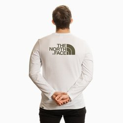 LONGSLEEVE THE NORTH FACE EASY TEE WHITE