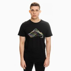 THE NORTH FACE RNBW T-SHIRT BLACK MULTI