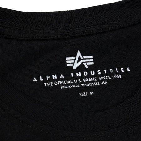 Alpha Industries Reflective Stripes T Black