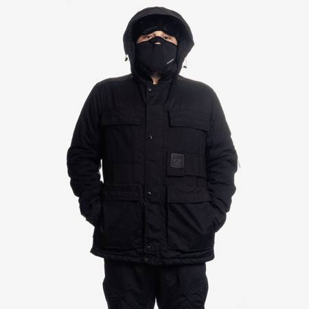 CP COMPANY OUTERWEAR MEDIUM JACKET TAYLON P BLACK