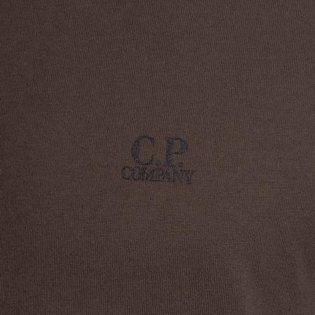 CP COMPANY SHORT SLEEVE JERSEY 30/1 DARK GREEN