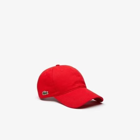 CZAPKA LACOSTE CONTRAST STRAP COTTON CAP
