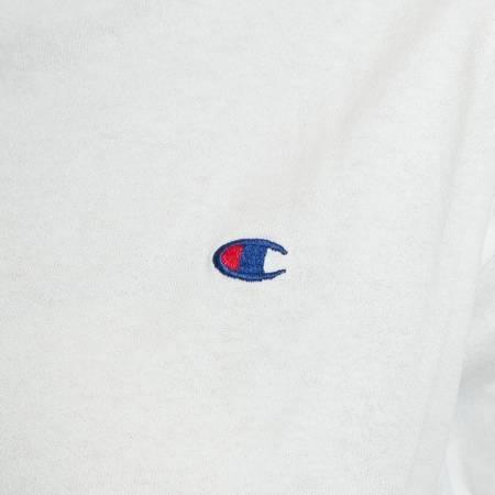 Champion Reverse Weave Koszulka Cropped T-Shirt White