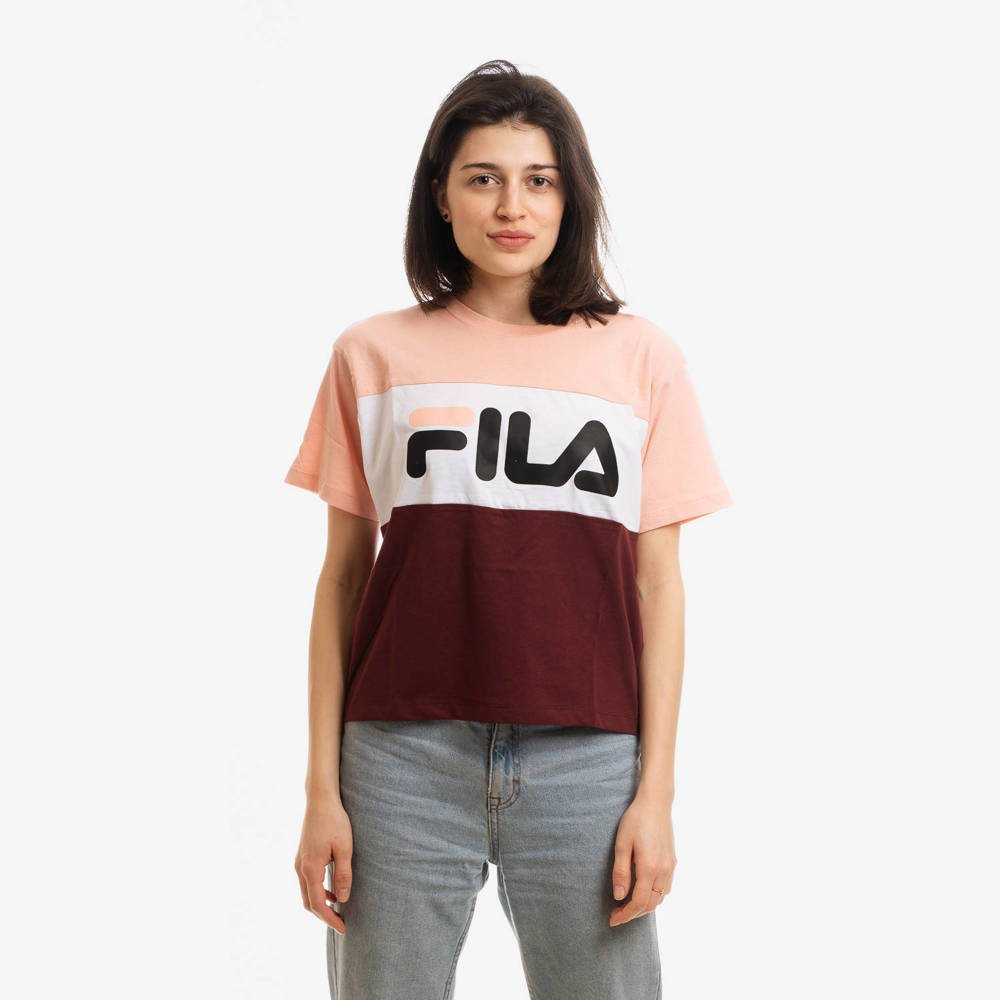 FILA WOMEN ALLISON T-SHIRT MULTICOLOR
