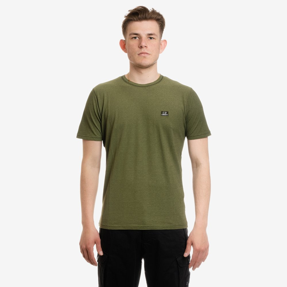 KOSZULKA CP COMPANY SHORT SLEEVE TACTING PIQUET LAUREL WREATH