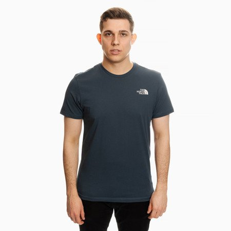 KOSZULKA THE NORTH FACE SIMPLE DOME T-SHIRT BLUE WING TAIL