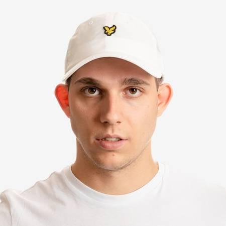LYLE&SCOTT BASEBALL CAP WHITE