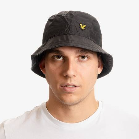 LYLE & SCOTT RIPSTOP BUCKET HAT BLACK