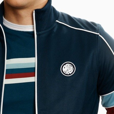 Pretty Green Mens Piped Contrast Panel Track Top
