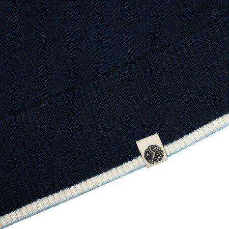 Pretty Green Mens Stripe Detail Knitted Shirt