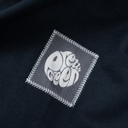 Pretty Green Mens Woven Pocket Crew